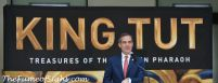 Mayor Garcetti at King Tut's media event