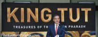 Mayor Garcetti at King Tut's media event