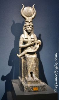 Isis with the infant Horus