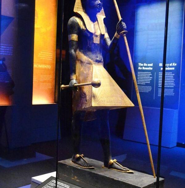 King Tut's exhibit artifacts