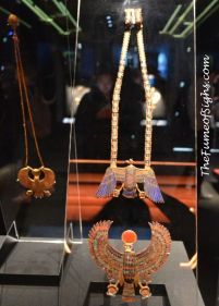 King Tut's exhibit artifacts