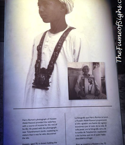 The boy who found the first step into Tut's tomb