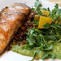 True Food Kitchen's grilled salmon